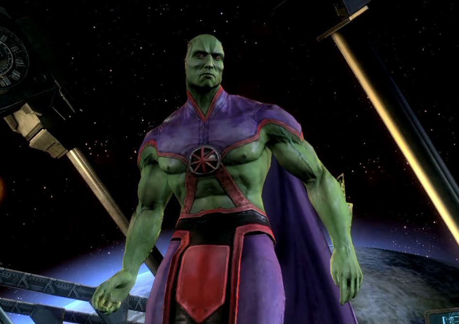 Injustice: Gods Among Us Martian Manhunter