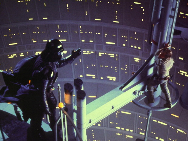 "Darth Vader telling Luke ""I am your father"""