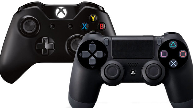 PlayStation 4 Screenshot - Xbox One vs PS4 controller
