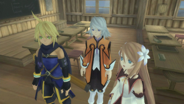 Tales of Symphonia: Dawn of the New World Screenshot - Tales of Symphonia HD