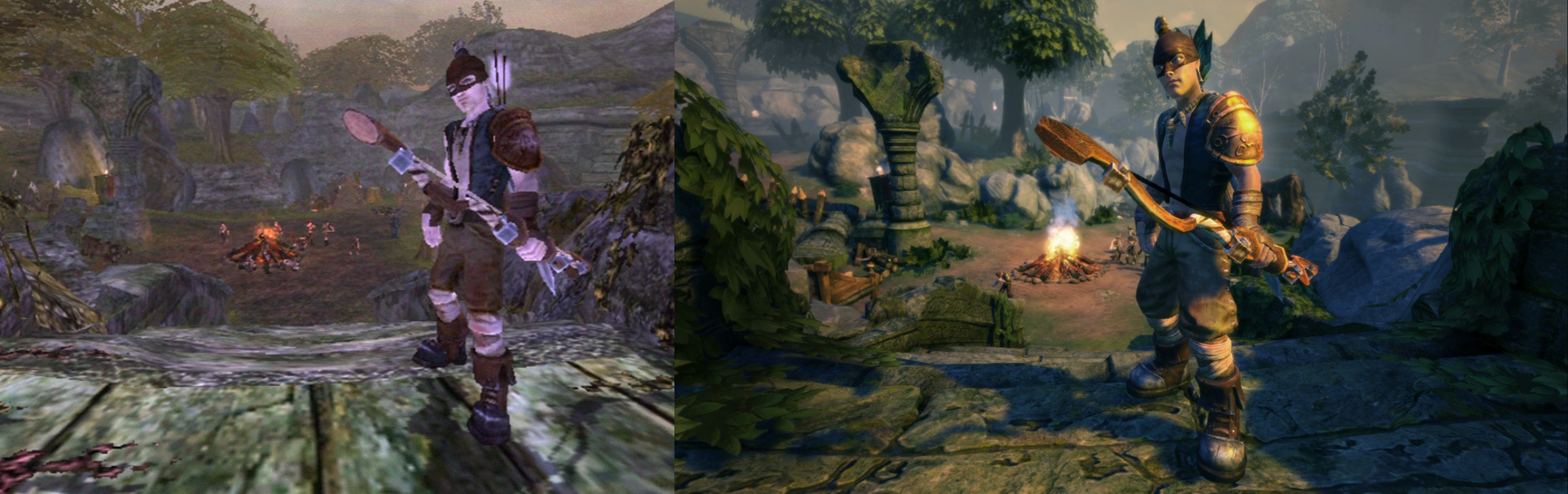 Fable Anniversary comparison