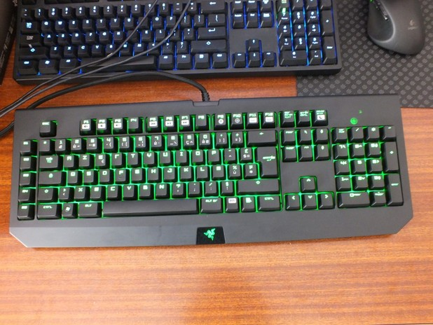 Peripheral Vision Razer Black Widow Ultimate 2013