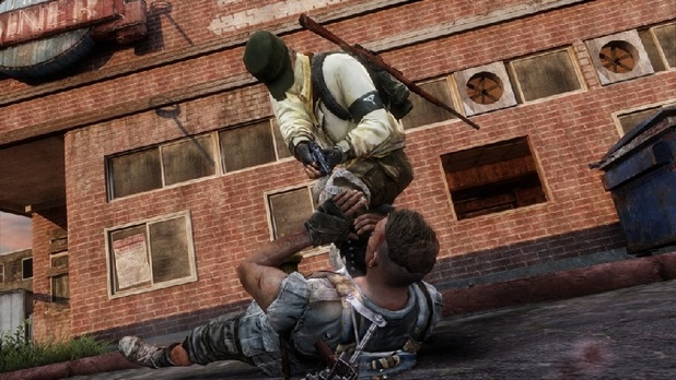 The Last of Us Screenshot - The Last of Us multiplayer execution