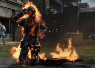 The Last of Us multiplayer burning body