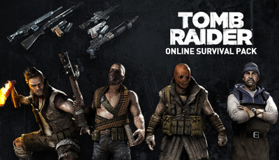 Tomb Raider Online Survival Pack