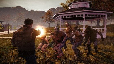 State of Decay Screenshot - State of Decay, shooting zombies
