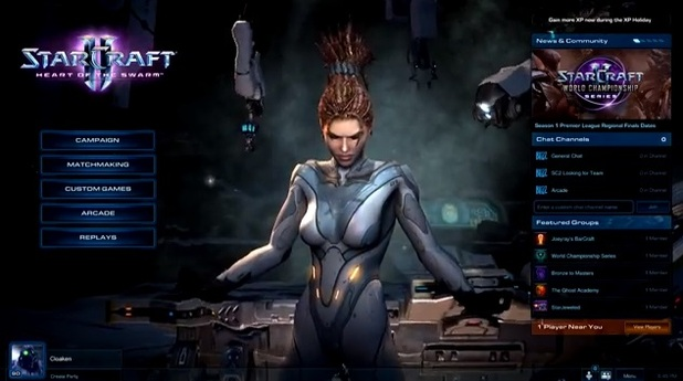 StarCraft II: Heart of the Swarm Screenshot - Spawning system