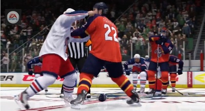 NHL 14 Screenshot - NHL 14 fighting Enforcer Engine