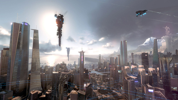 Killzone: Shadow Fall city