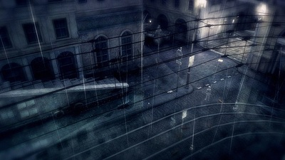 Rain Screenshot - Invisible boy on street corner
