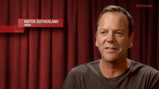 Kiefer Sutherland Metal Gear Solid V