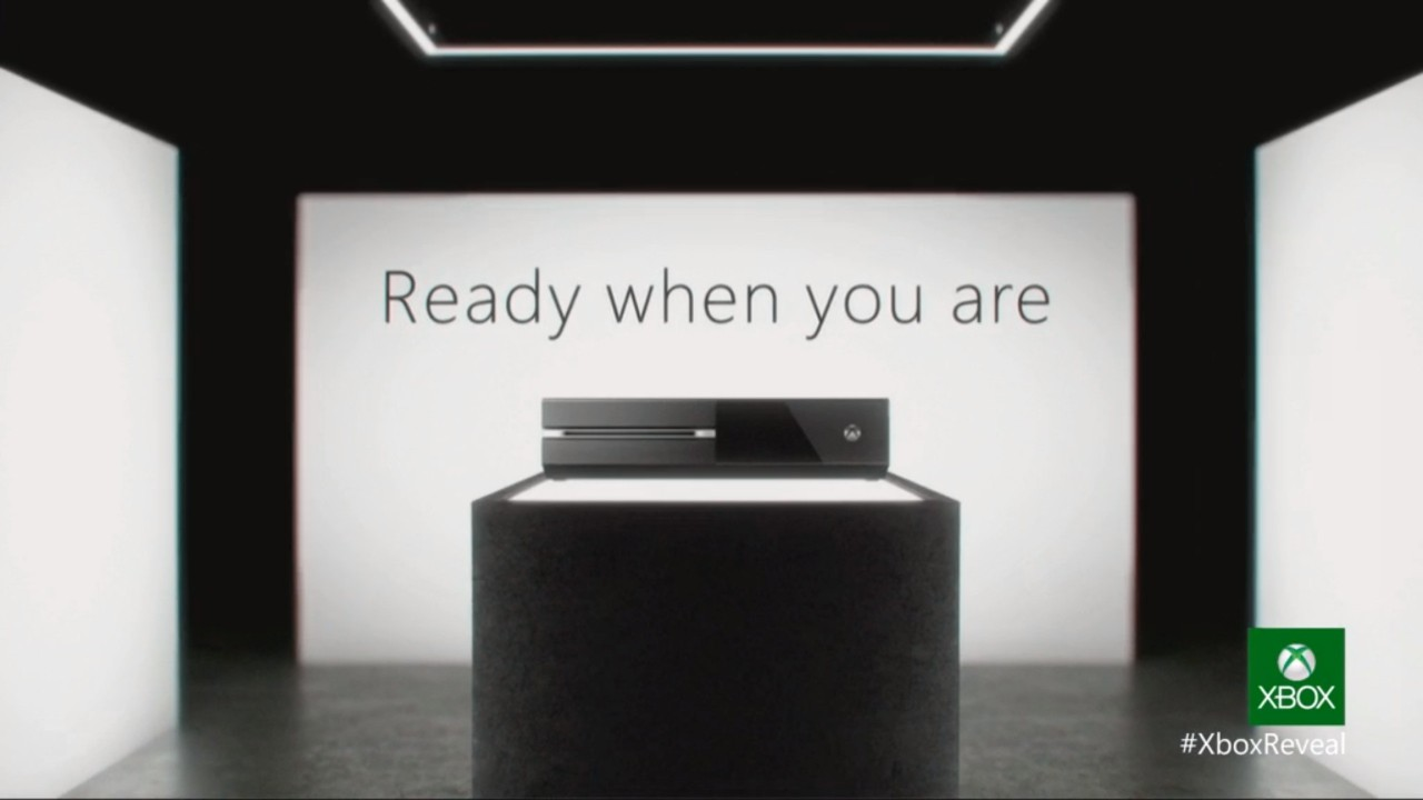 Xbox One is ready when you are