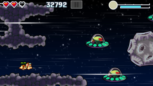 Flying Hamster Screenshot - Flying Hamster HD