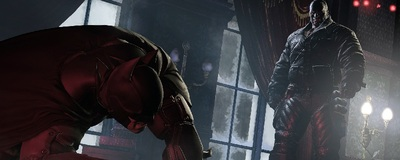 Batman Arkham Origins Bane fighting Batman feature