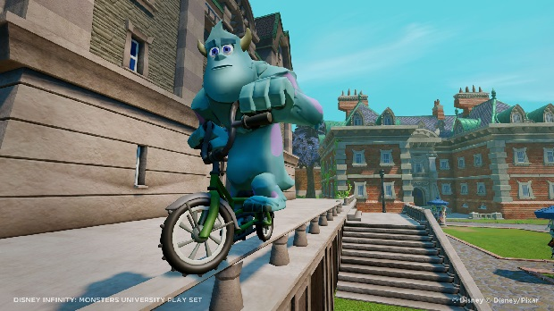 Disney Infinity Monsters University playset