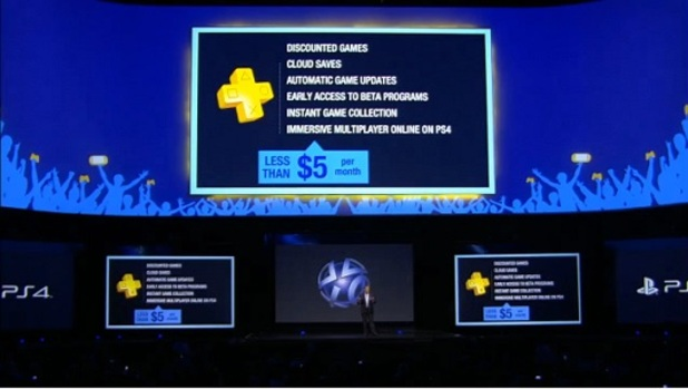 PS Plus on PS4