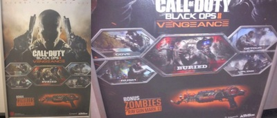 Call of Duty: Black Ops 2 Screenshot - Black Ops 2 Vengeance DLC poster
