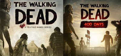 The Walking Dead-season 1 and 400-Days