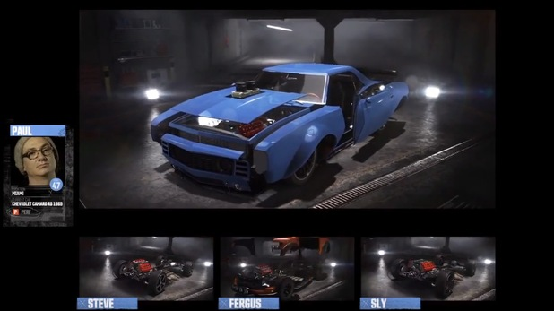 Car Customizing in The Crew