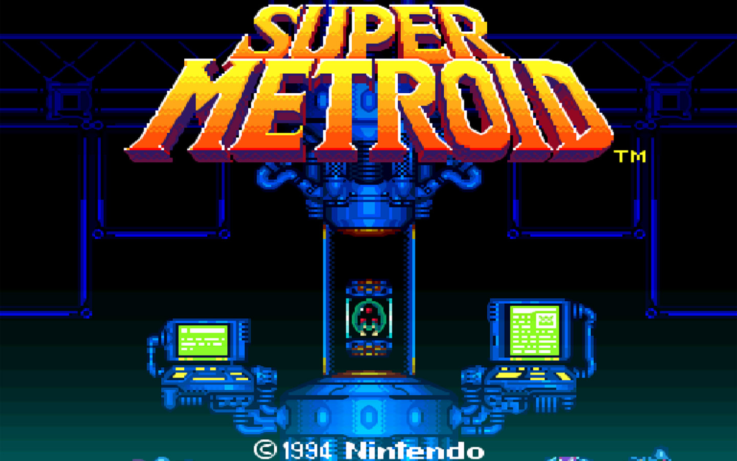 Super Metroud Start Screen
