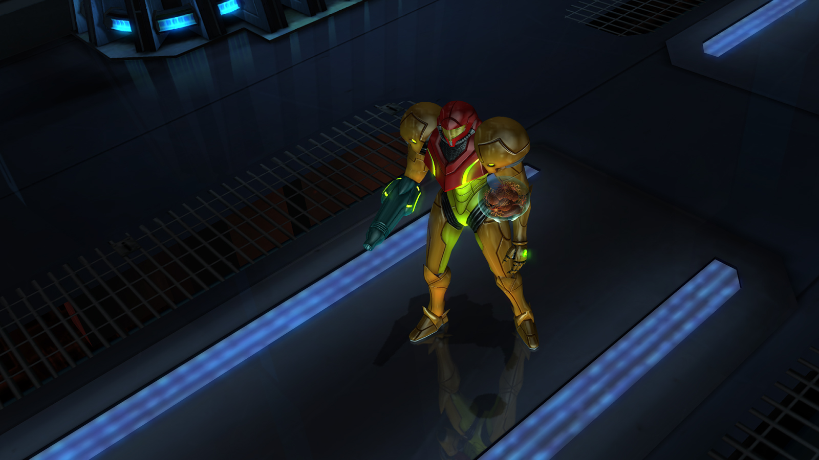 Metroid: The Other M Screen