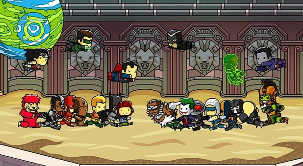Scribblenauts Unmasked – A DC Comics Adventure Screenshot - Heroes vs Villains