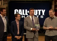 Jimmy Fallon with Call of Duty: Ghosts