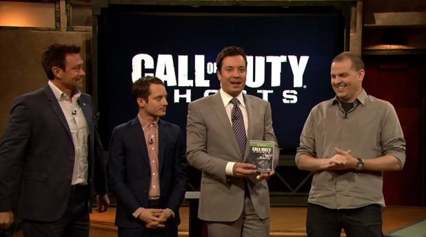 Call of Duty: Ghosts Screenshot - Jimmy Fallon with Call of Duty: Ghosts