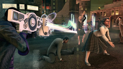Saints Row 4 Screenshot - Saints Row 4 dubstep gun