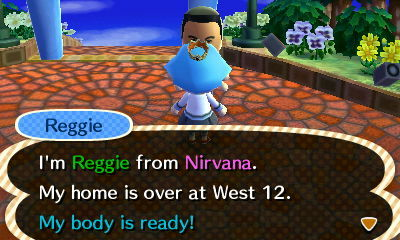 Animal Crossing: New Leaf Screenshot - Animal Crossing: New Leaf - Reggie