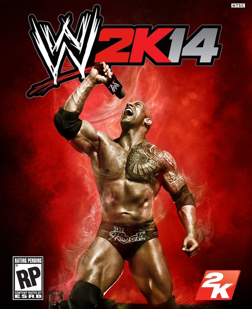 WWE 2K14 with The Rock