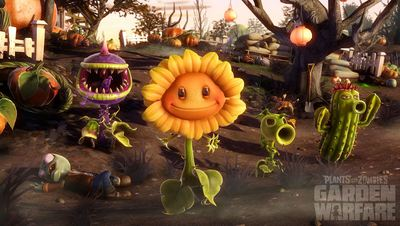 Plants vs. Zombies: Garden Warfare Screenshot - The Plants vs. Zombies crew