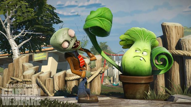Garden Warfare Zombie punch