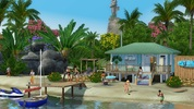 The Sims 3 Island Paradise beach house