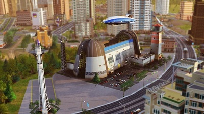 SimCity Screenshot - SimCity Airship Set
