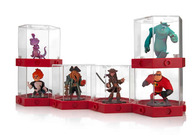 PDP Disney Infinity figure display case stacked and attached