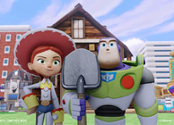 Disney Infinity Toy Box Buzz and Jessie farmer