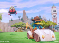 Disney Infinity Toy Box Perry the Platypus in car