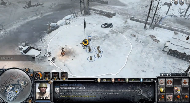 Company of Heroes 2 resource spot