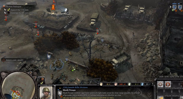 Company of Heroes 2 capture point