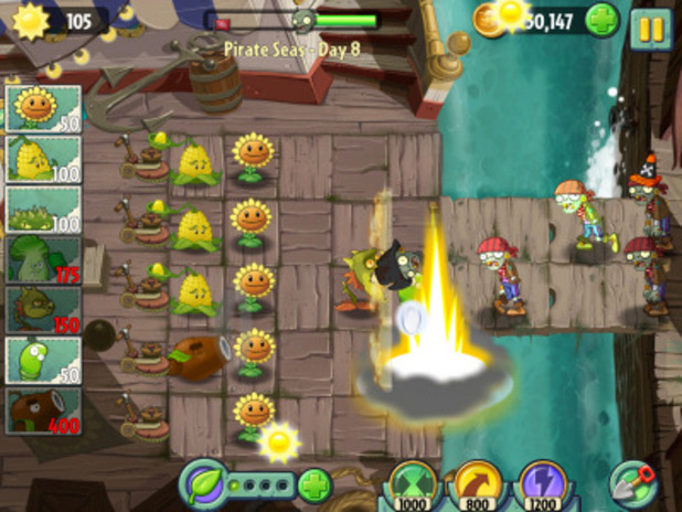 Screenshot - Plants vs. Zombies 2