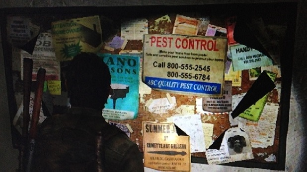 The Last of Us Screenshot - The Last of Us phone sex hotline