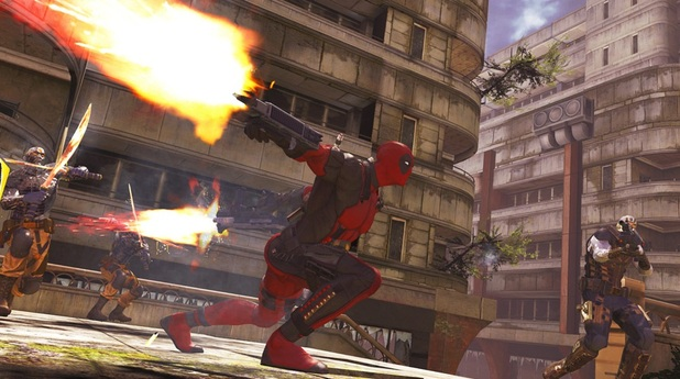 Deadpool Screenshot - Deadpool combat