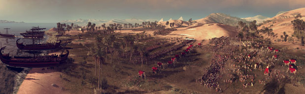 Total War: Rome 2 Screenshot - Rome 2 Total War Nile Panoramic