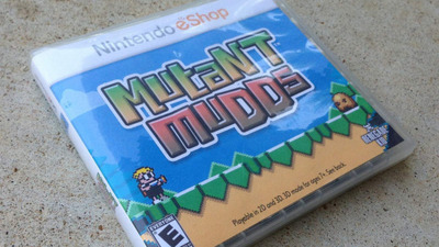 Mutant Mudds Screenshot - Mutant Mudds boxed