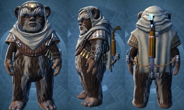 Star Wars: The Old Republic Screenshot - Ewok companion Treek, Star Wars: The Old Republic