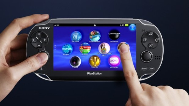 PS Vita Screenshot - PS Vita Touchscreen