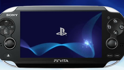 PS Vita with PlayStation Logo