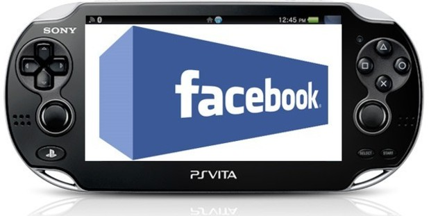 PS Vita Screenshot - Facebook App on PS Vita