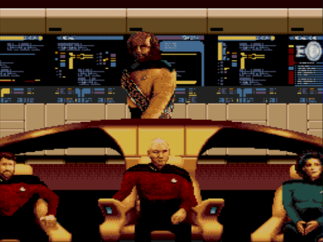 Star Trek TNG Sega Genesis video game